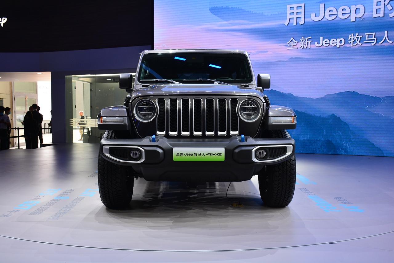 2020北京车展实拍:牧马人4xe