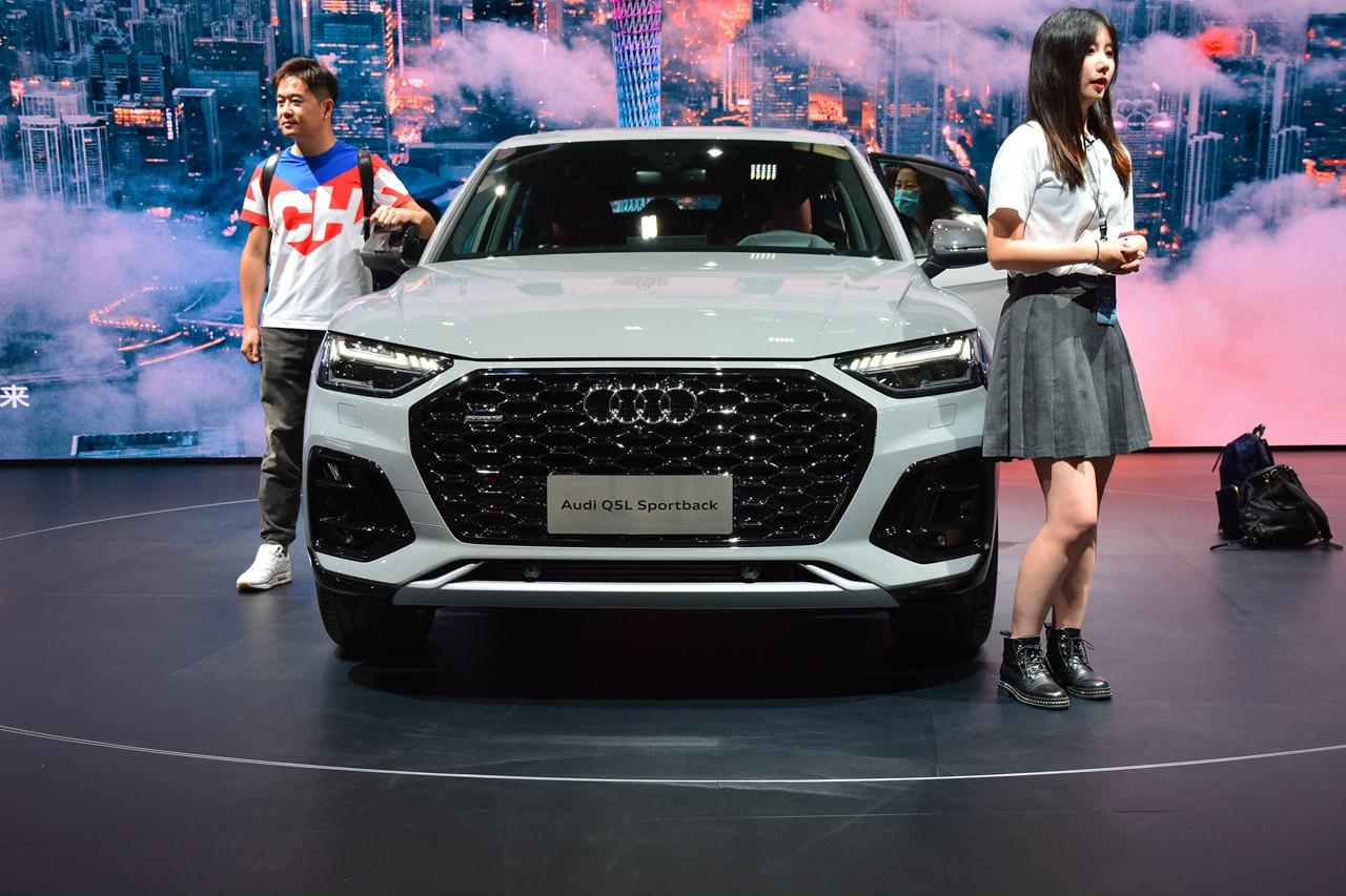 广州车展实拍 奥迪Q5L Sportback