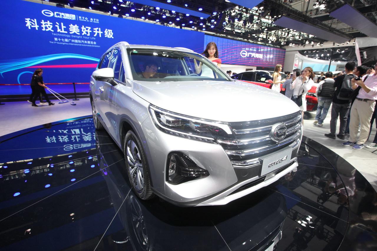 2019广州车展实拍:传祺GS4