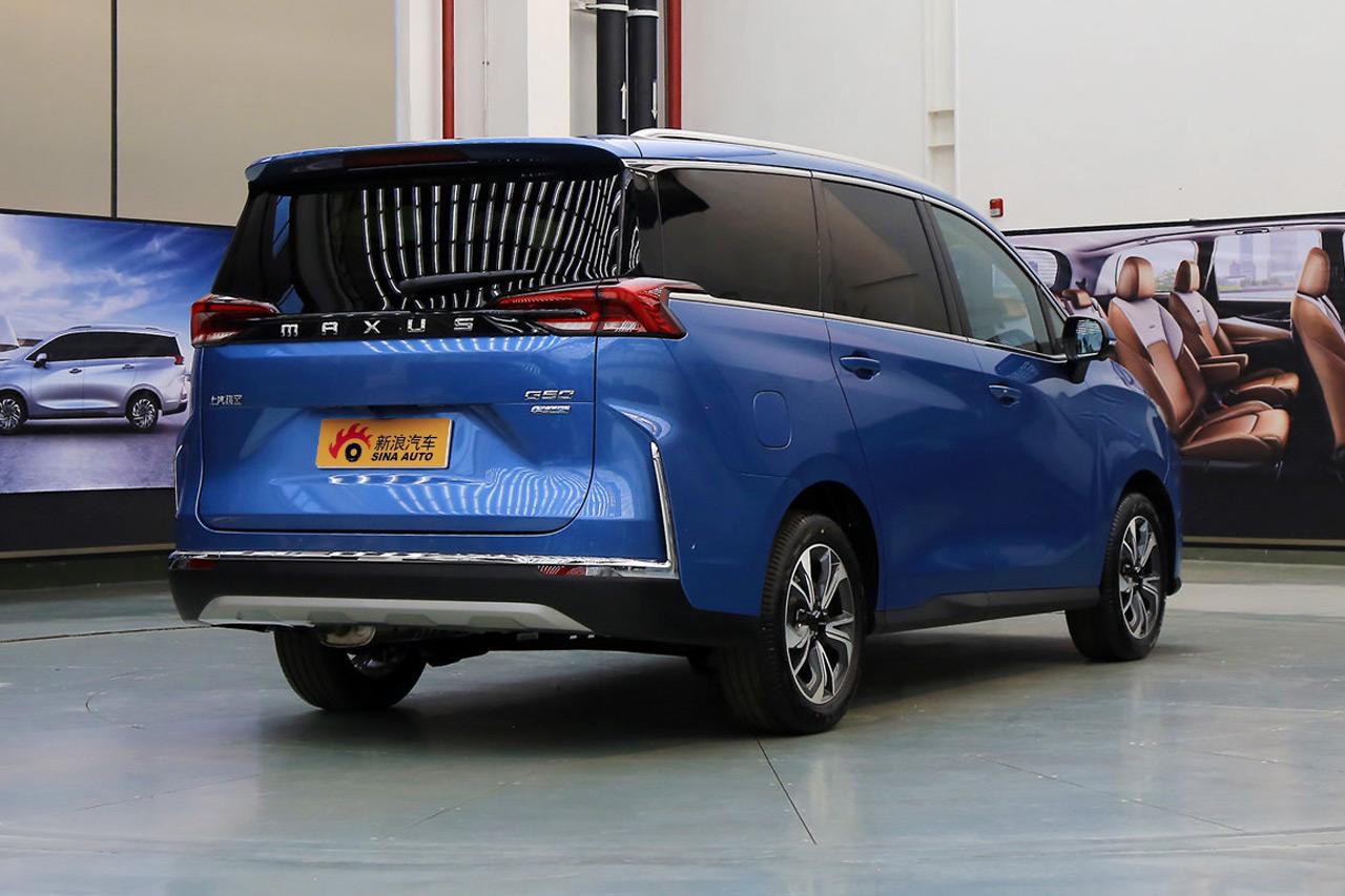 2021款上汽MAXUS G50 PLUS 1.5T自动全配版