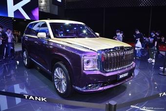 2021上海车展实拍:坦克800