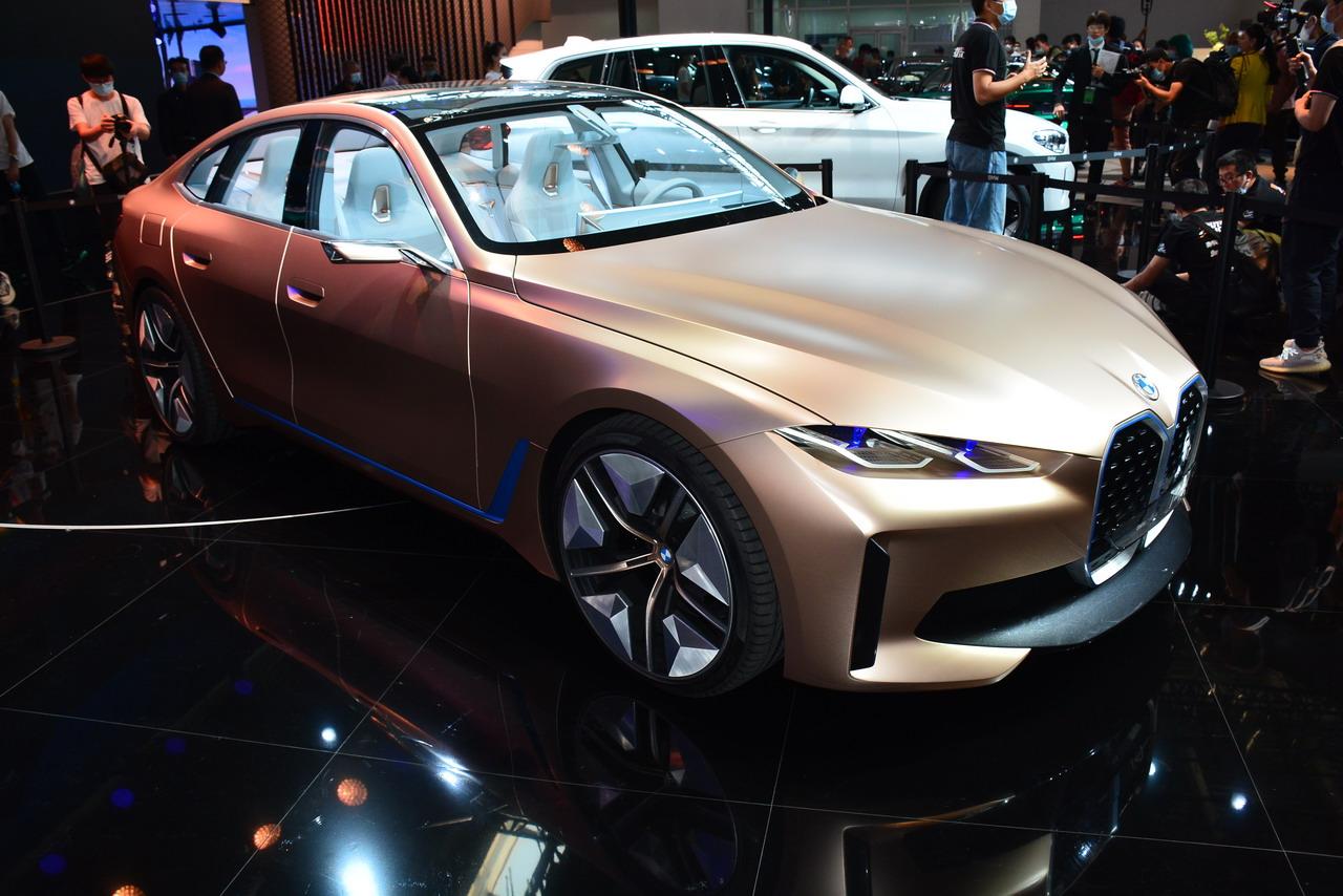 2020北京车展实拍:宝马i4