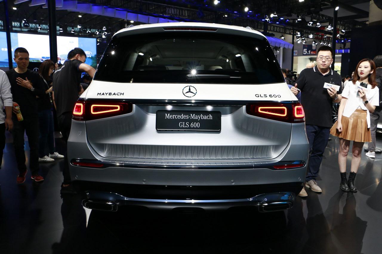 2019广州车展实拍:迈巴赫GLS 600