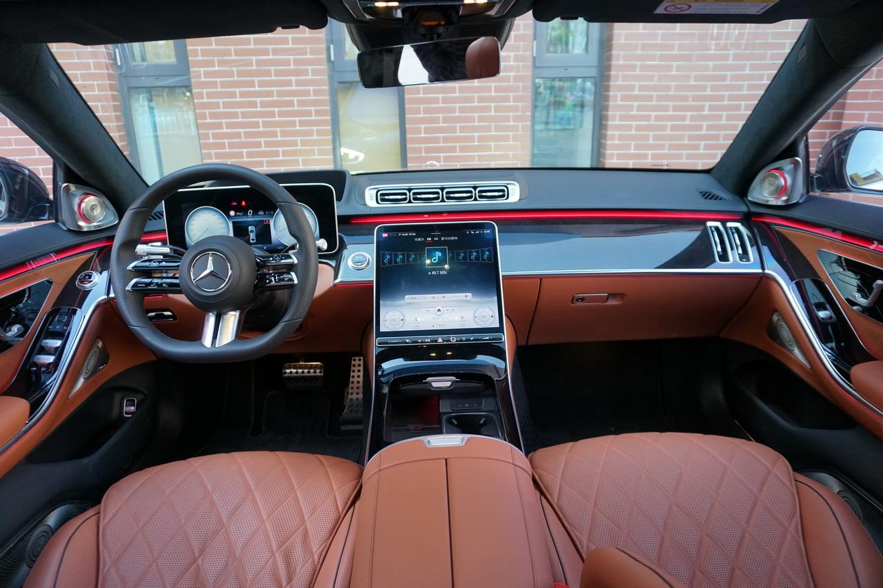 2021款奔驰S级 500 L 4MATIC