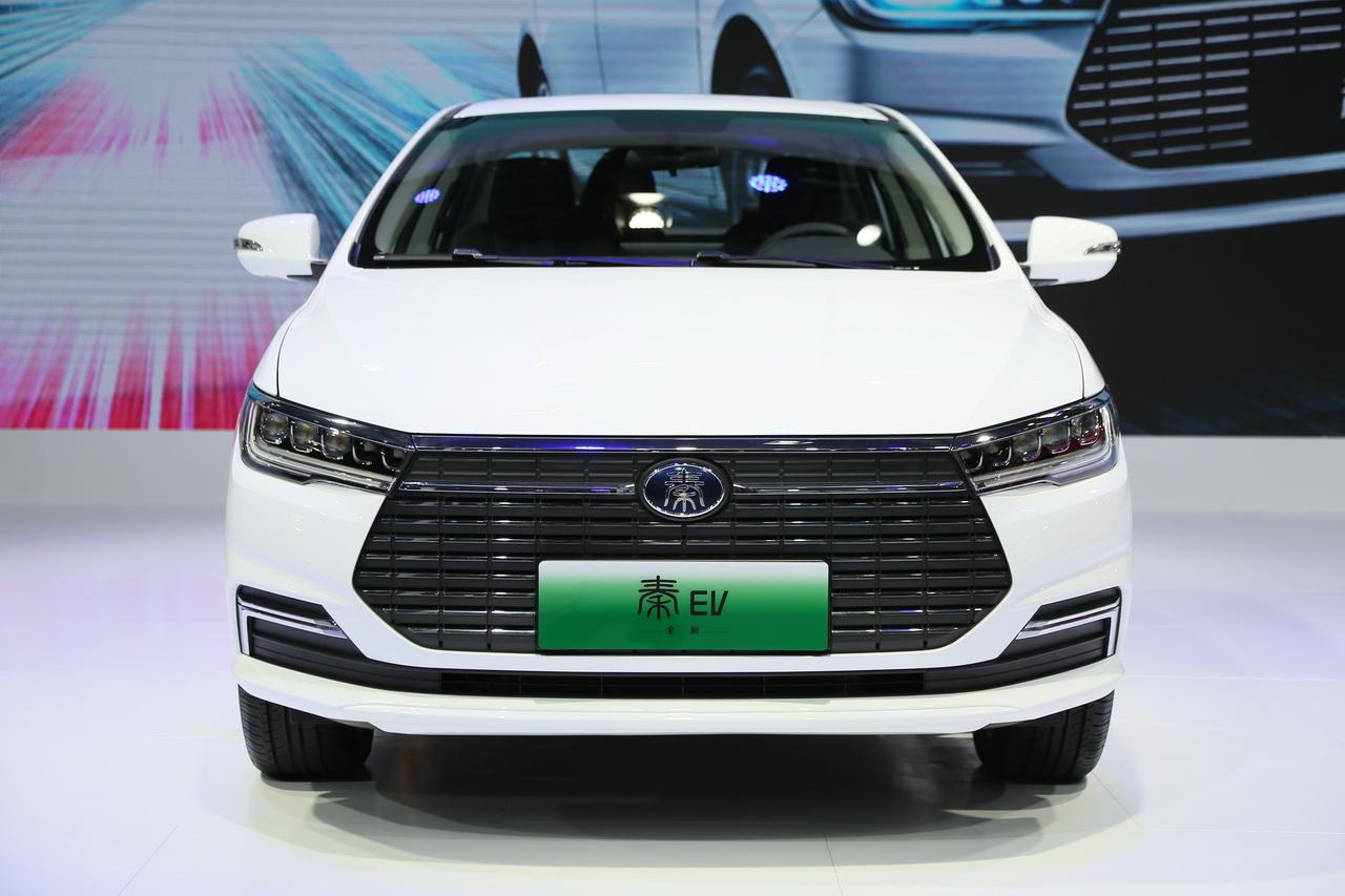 2019广州车展实拍:比亚迪秦新能源