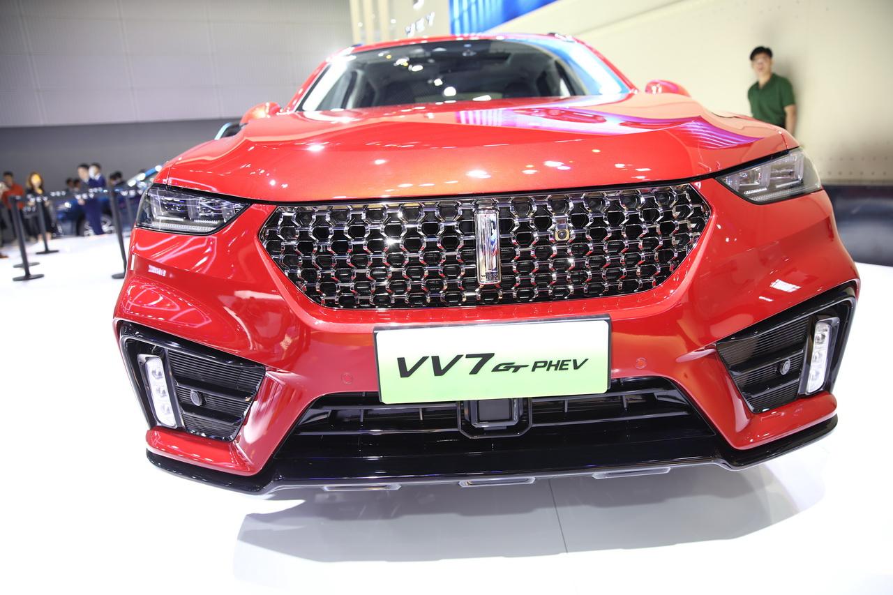 2019广州车展实拍:WEY VV7 GT新能源